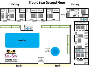 Tropic Seas Second Floor