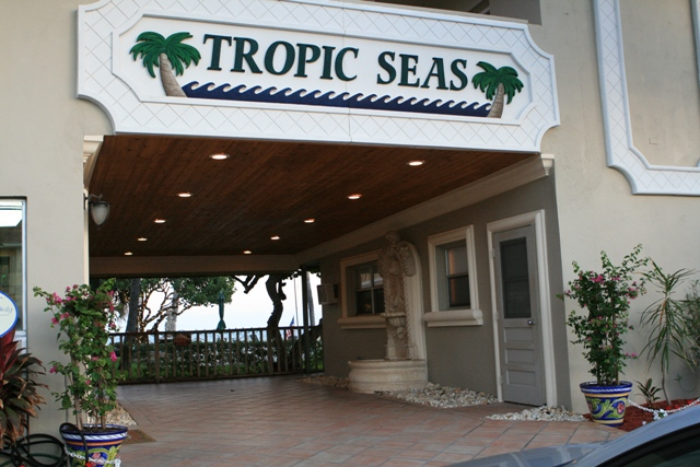 Tropic Seas Front Entrance
